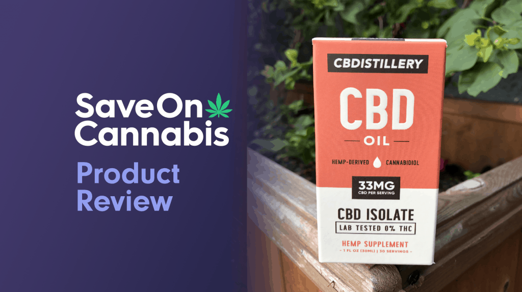 cbdistillery thc free pure cbd oil tincture 1000 mg save on cannabis website