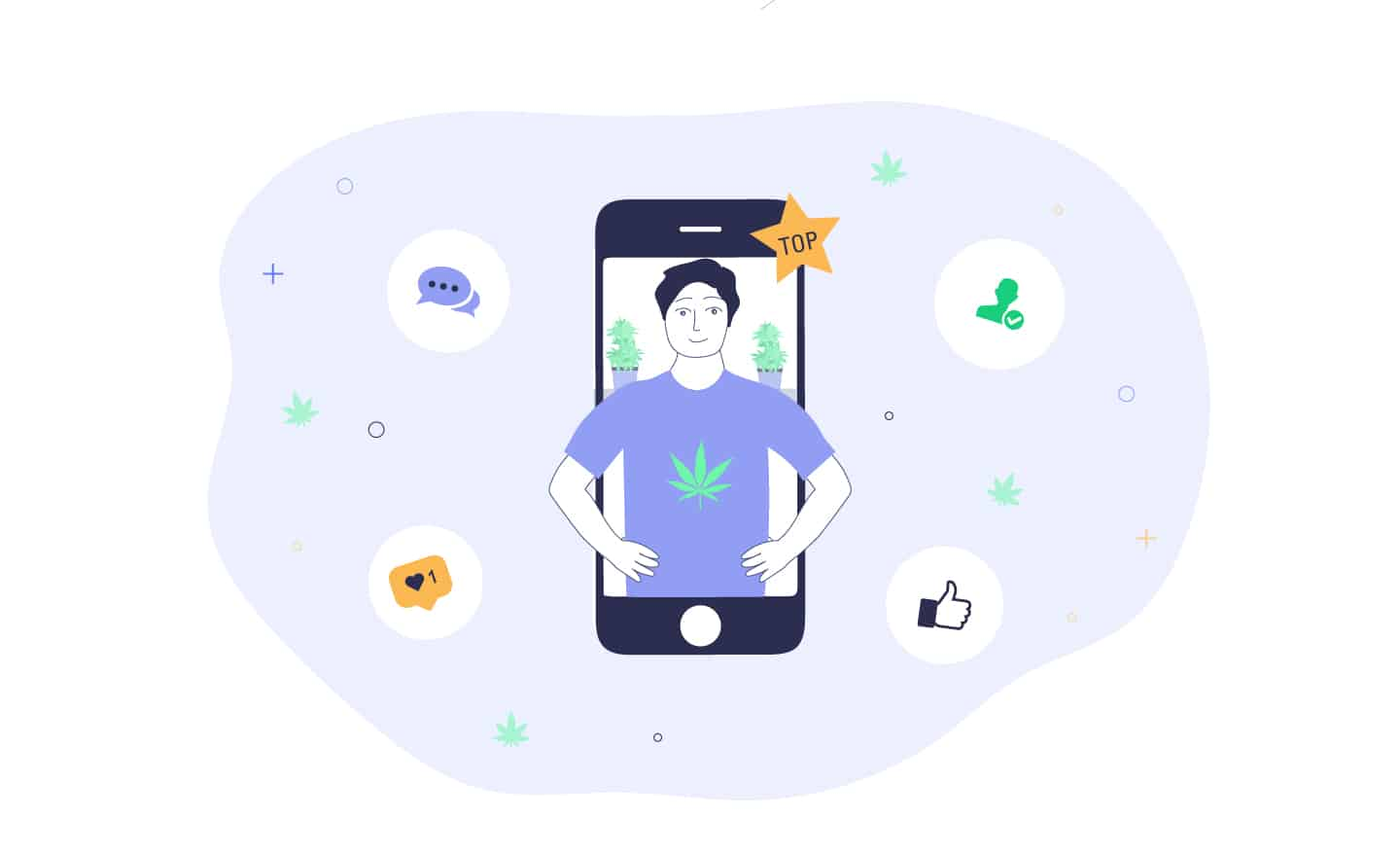 top cannabis influencers