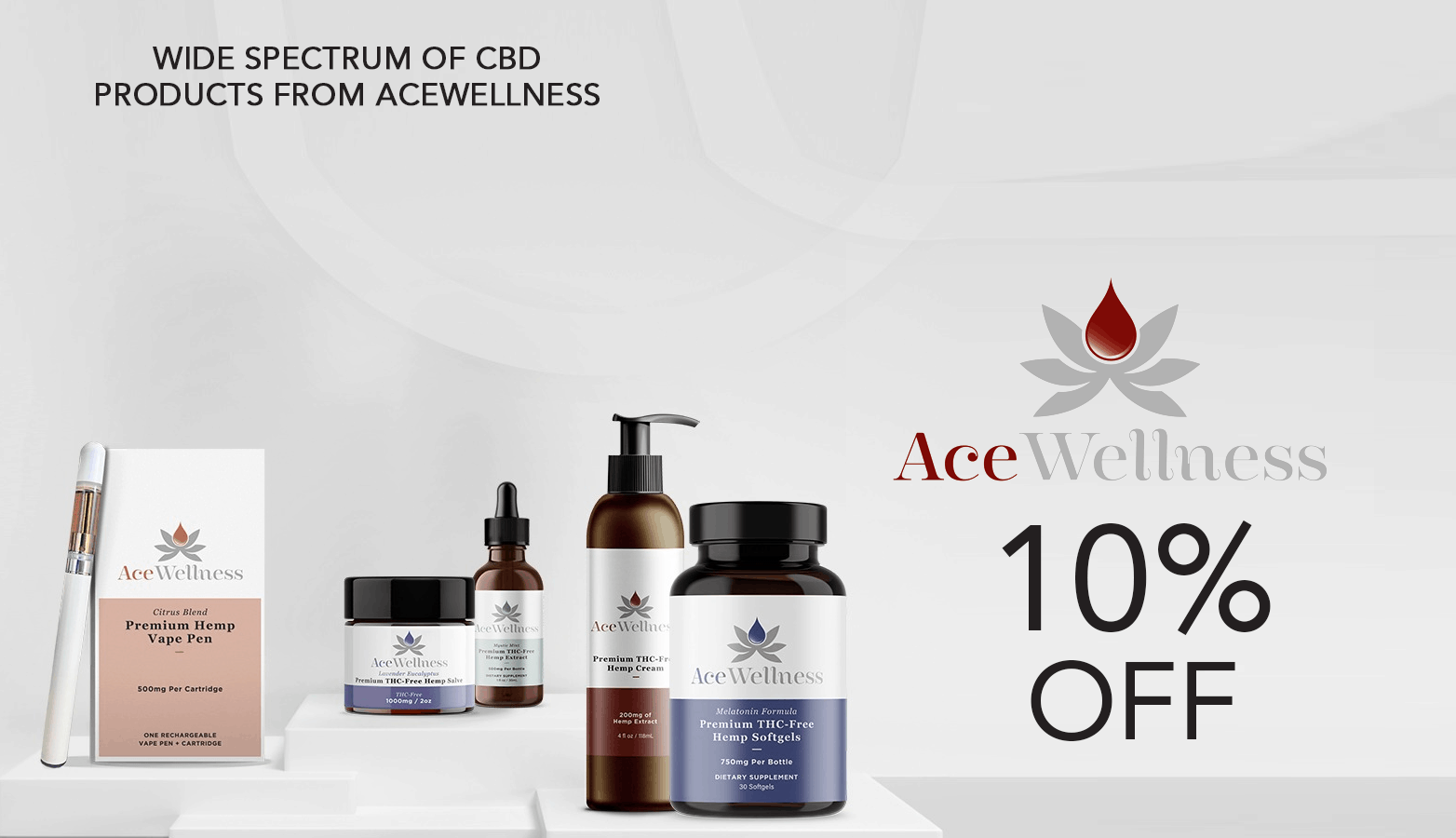 AceWellness CBD Promo Code Discount Website
