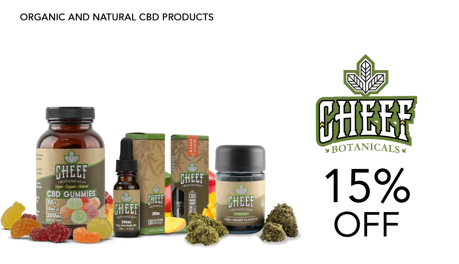 Cheef Botanicals CBD Coupon Code Offer Website