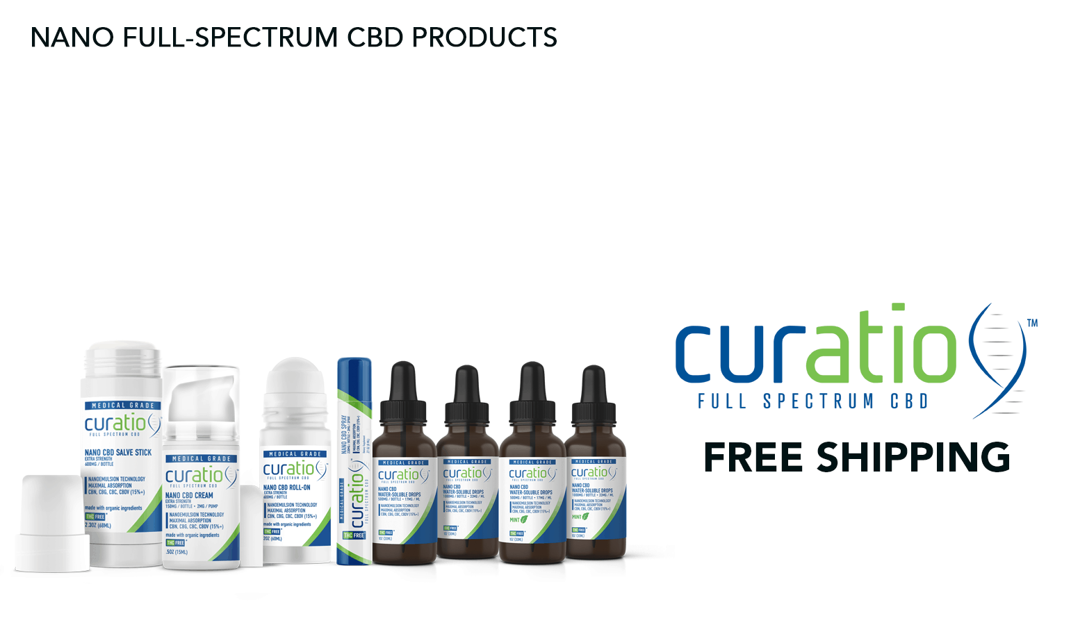Curatio CBD Coupon Code Free Shipping Website