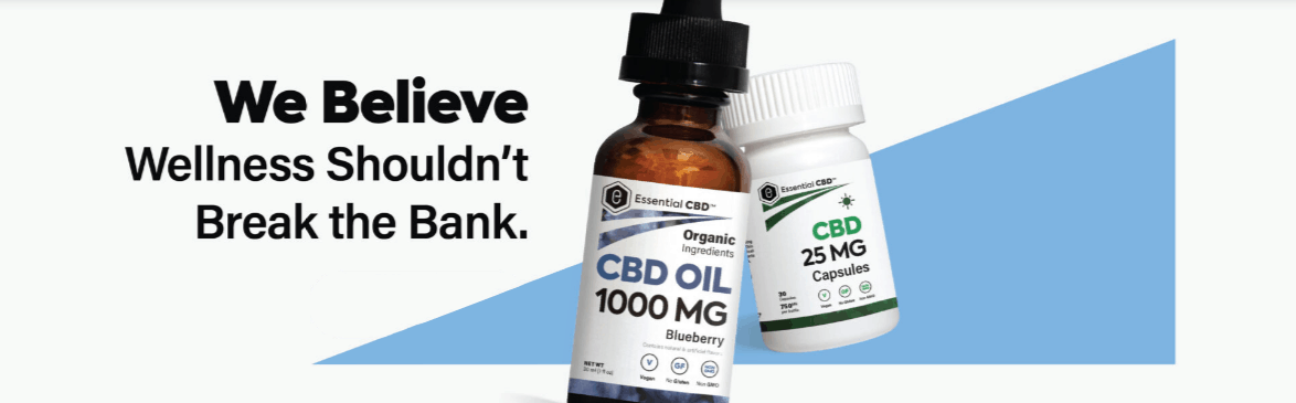 Essential CBD Coupon Code Wellness Products