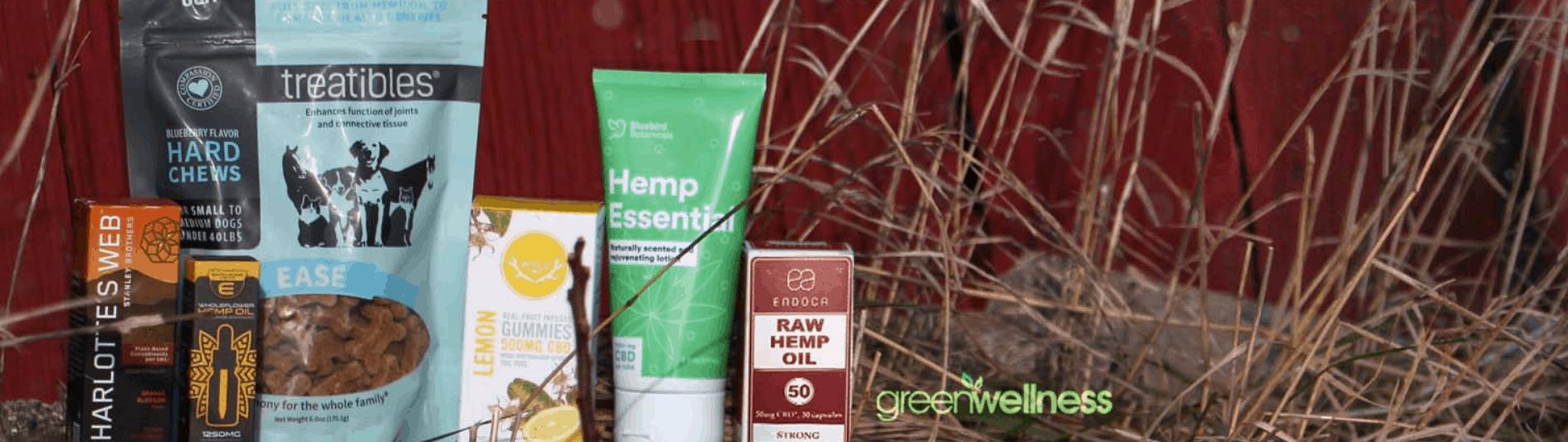 Green Wellness Life CBD Coupon Code Products Range