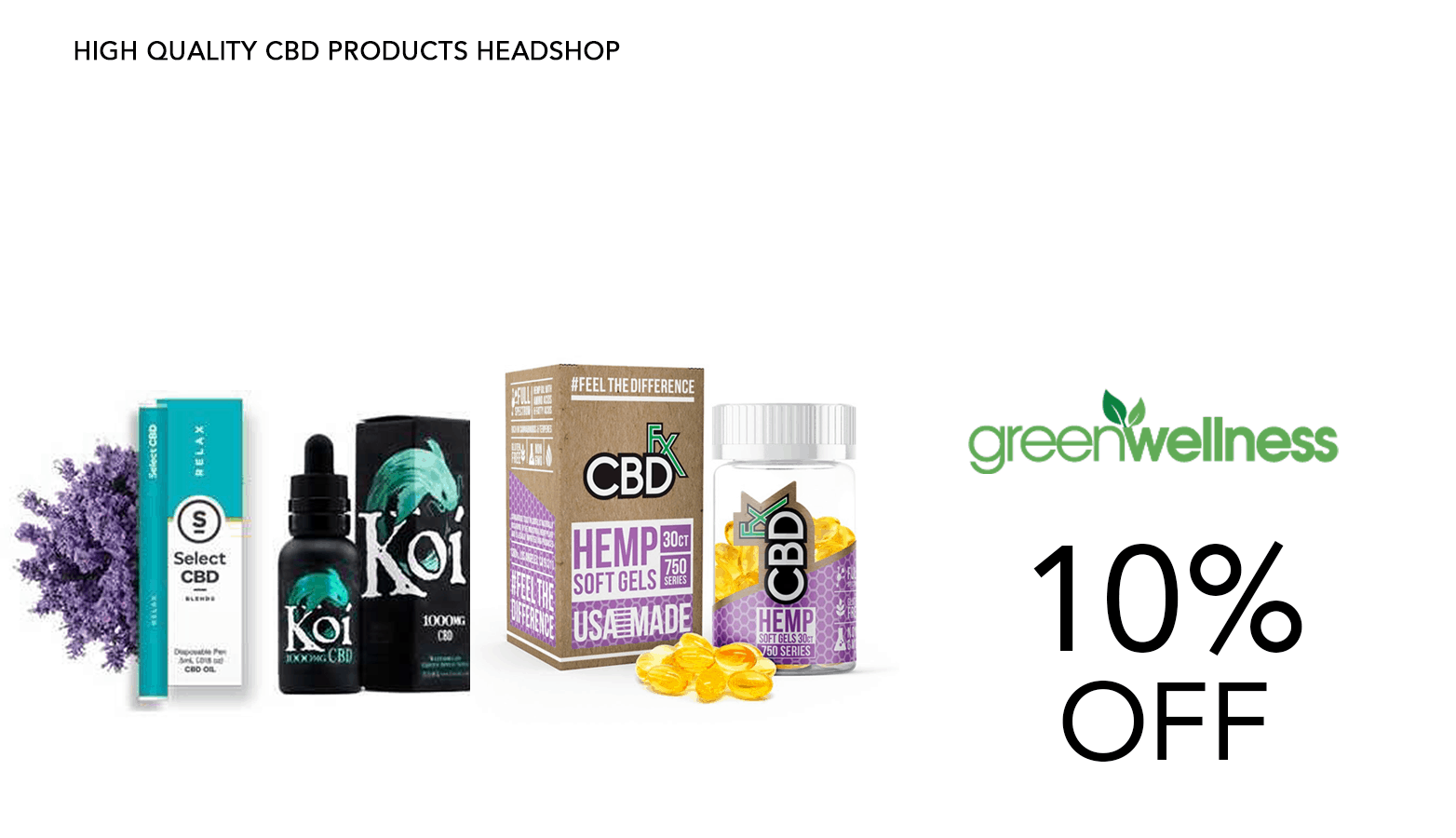 Green Wellness Life CBD Coupon Code Discount Website