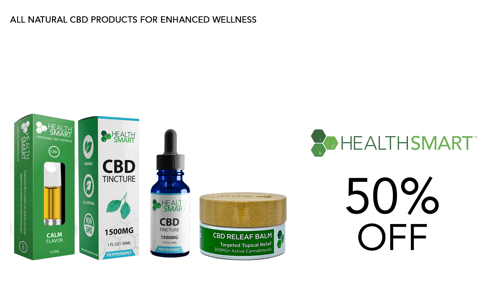 Health Smart CBD Coupon Code Offer Website