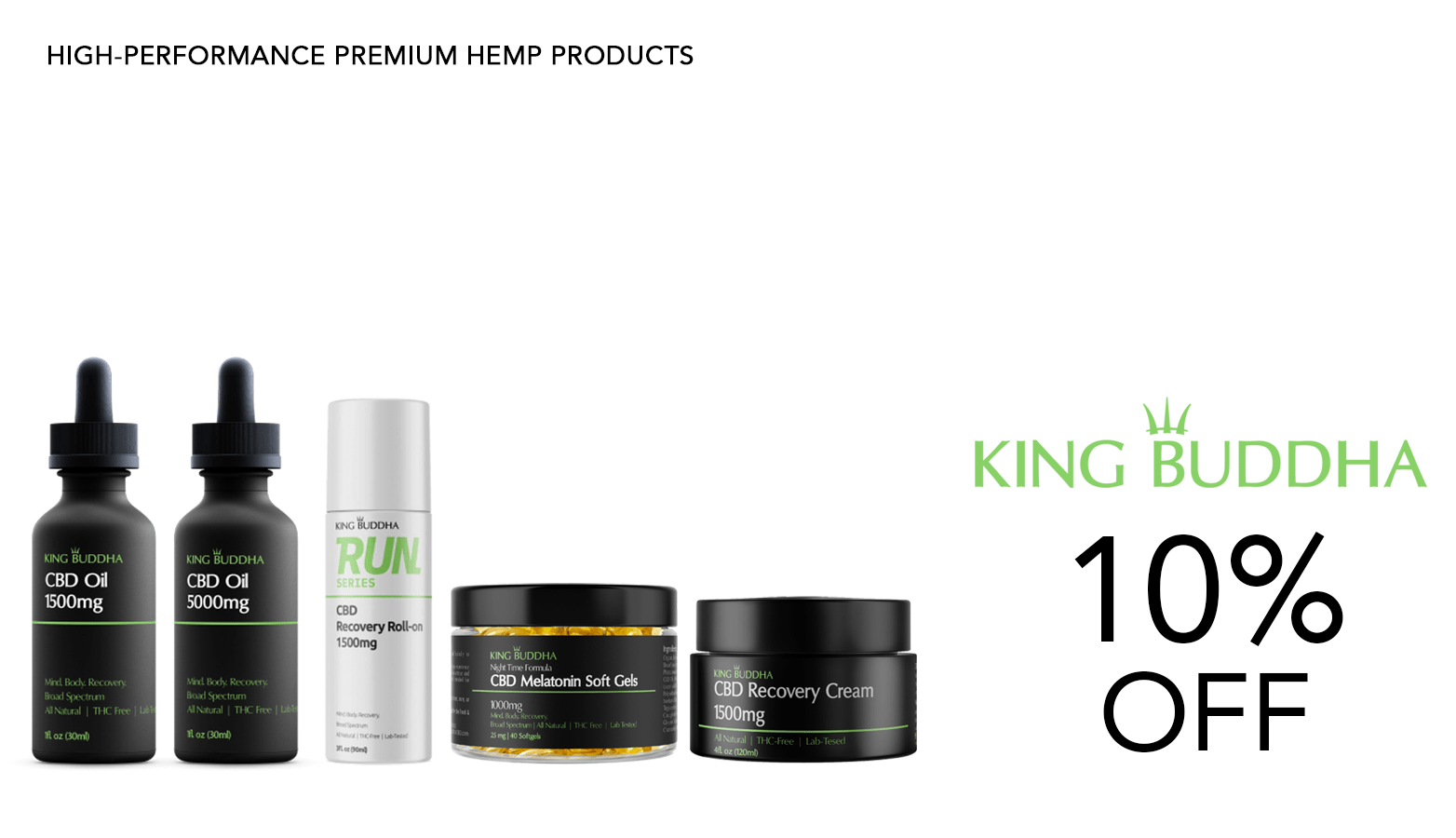 King Buddha CBD Coupon Code Offer Website