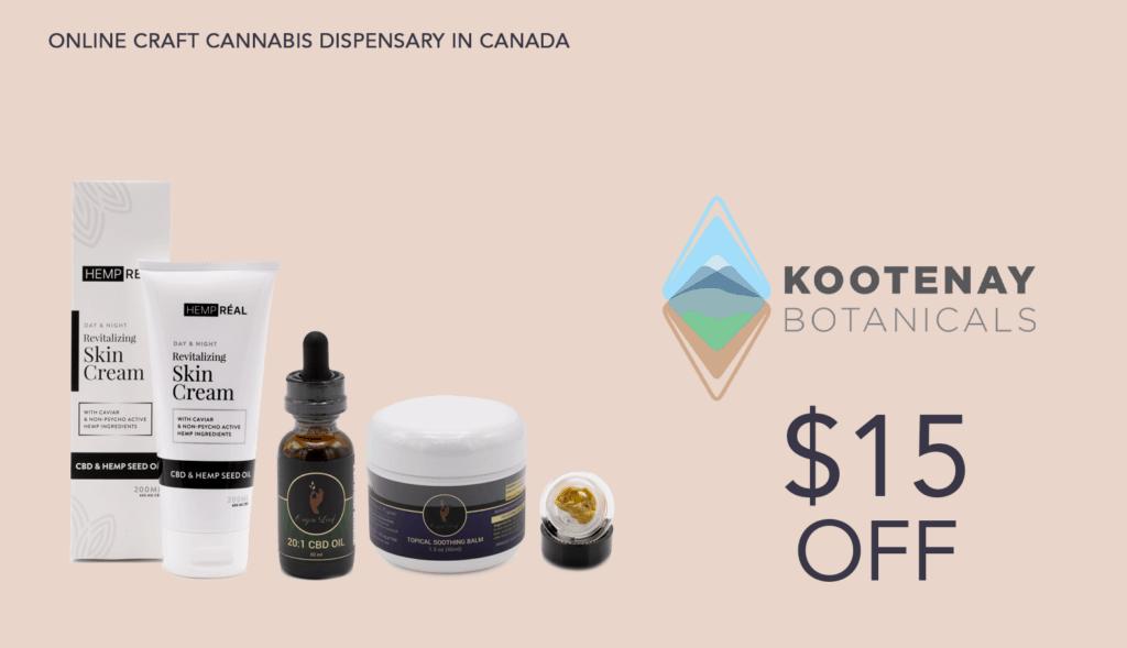Kootenay Botanicals Promo Graphic