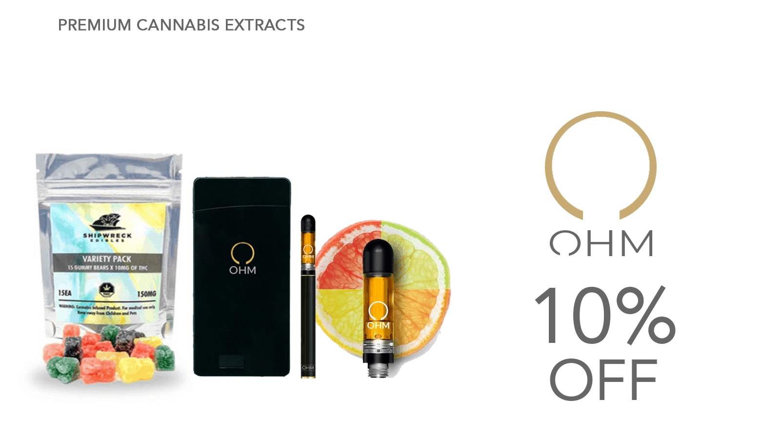 OHM CBD Coupon Code Offer Website