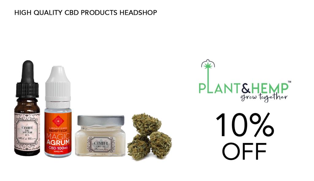 Plant & Hemp CBD Coupon Code 10 Percent Off Website