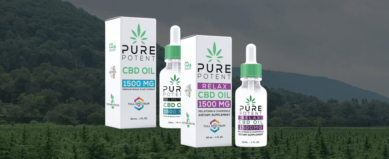 Pure Potent CBD Coupons Premium Products