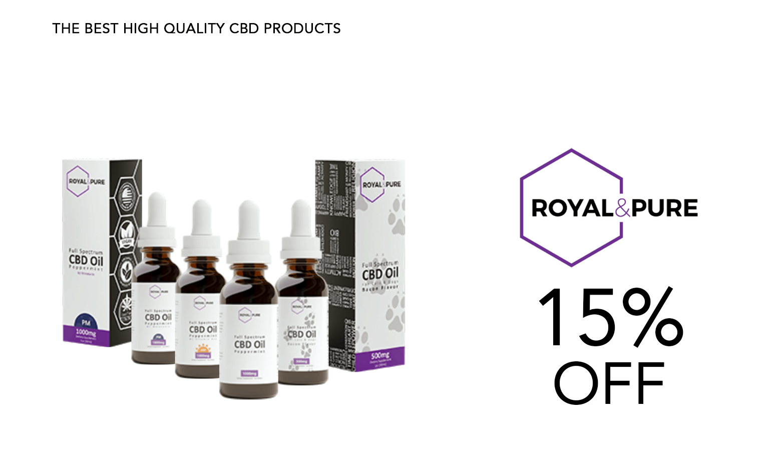 Royal & Pure CBD Coupon Code Discount Website