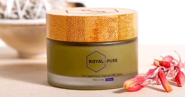 Royal & Pure Coupons Full Spectrum Topical CBD Salve