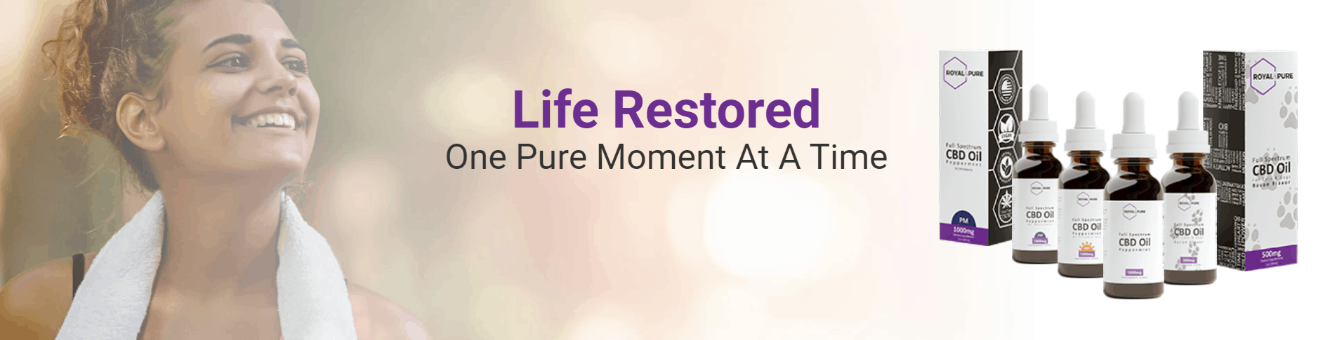 Royal & Pure CBD Coupon Code Restored life