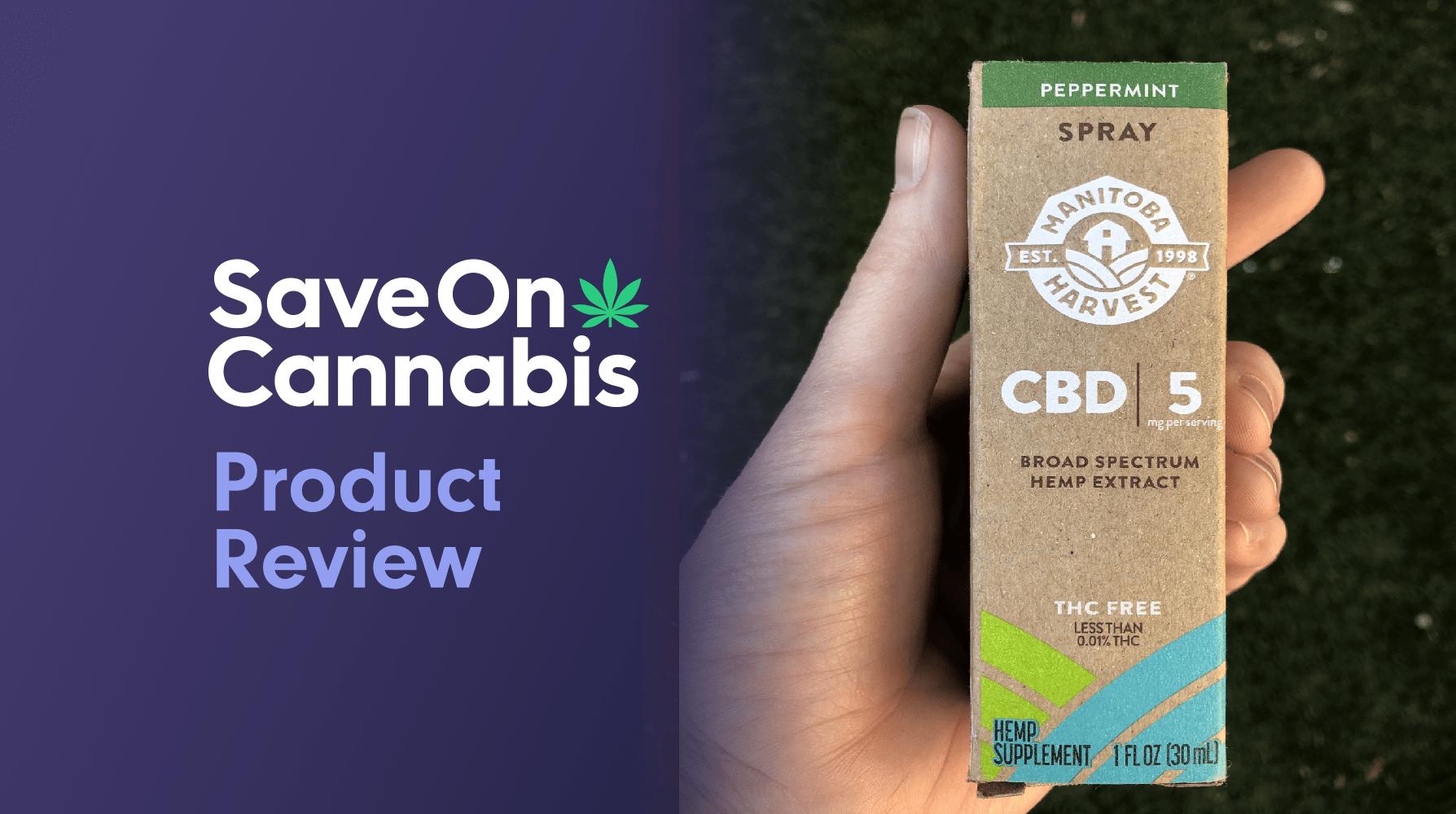manitoba harvest cbd peppermint spray save on cannabis website