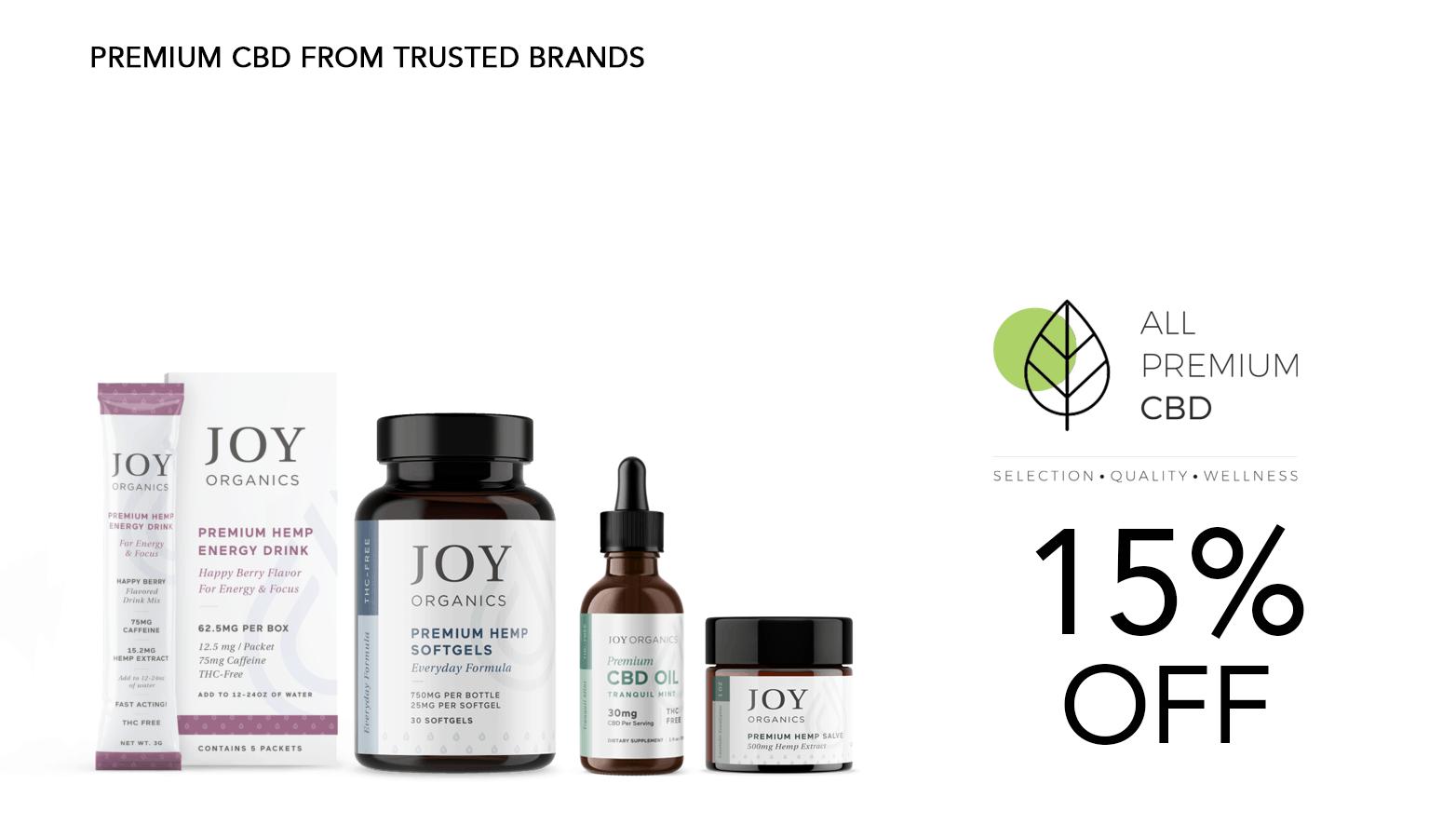 All Premium CBD Joy Organics Website