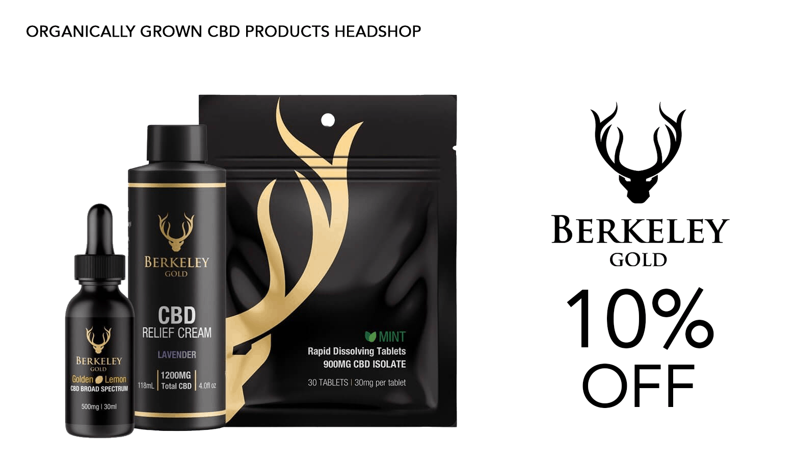 Berkeley Gold CBD Coupon Code Offer Website