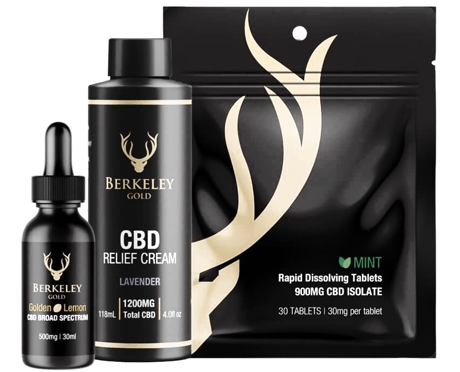 Berkeley Gold CBD Coupon Code Organically Grown