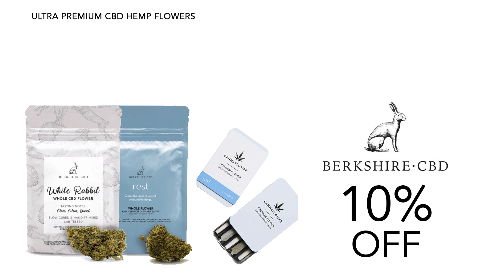 Berkshire CBD Coupon Code Offer Website