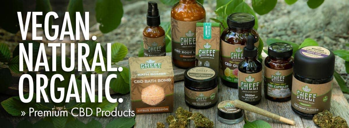 Cheef Botanicals CBD Coupons Natural Organic