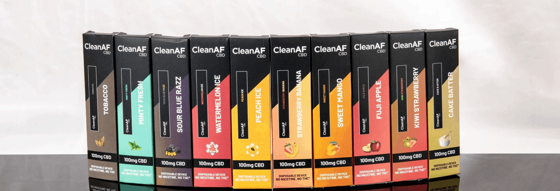 CleanAf CBD Vape Coupon Code Our Products