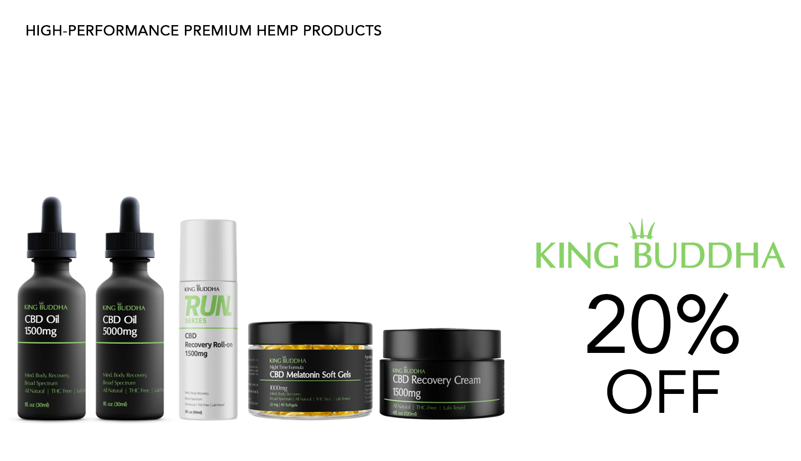 King Buddha CBD Coupon Code Discount Website