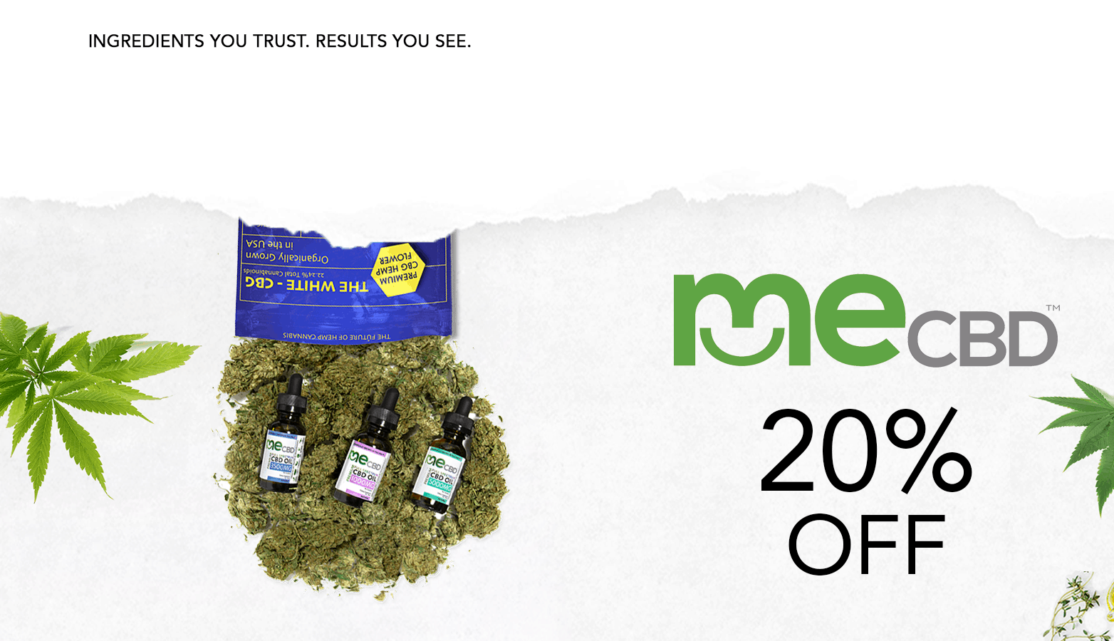 MeCBD Coupon Code Discount Website