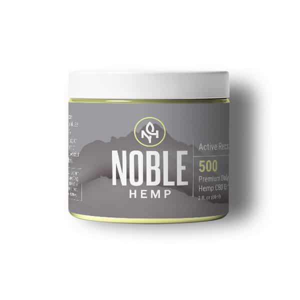 Noble Hemp CBD Coupon Code Active Recovery Balm