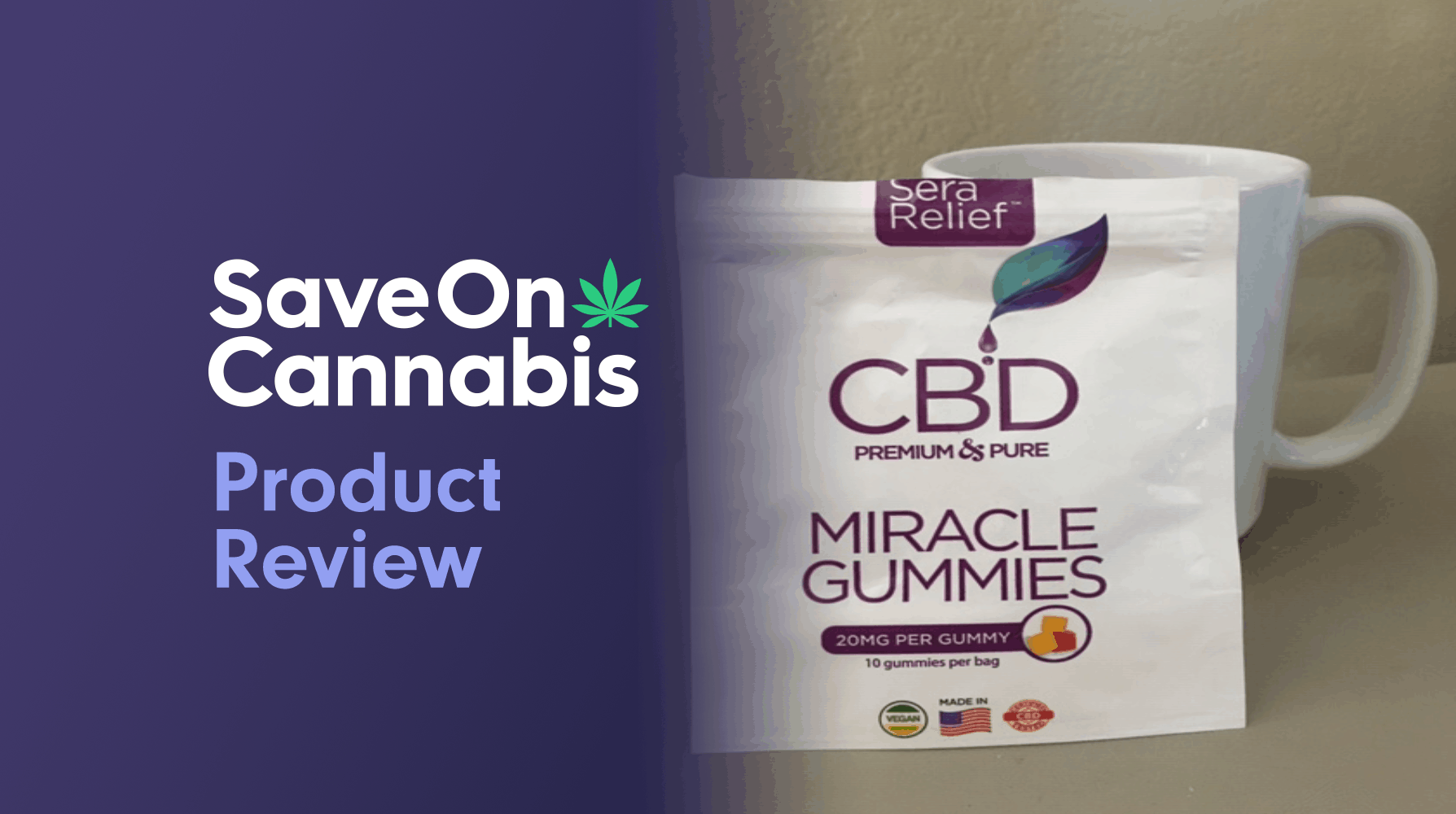 Sera Labs CBD Miracle Gummies Save On Cannabis Review Website