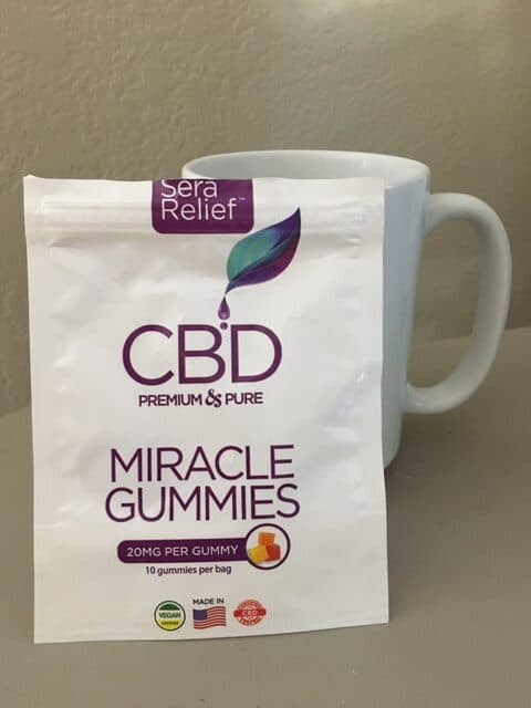 Sera Labs CBD Miracle Gummies