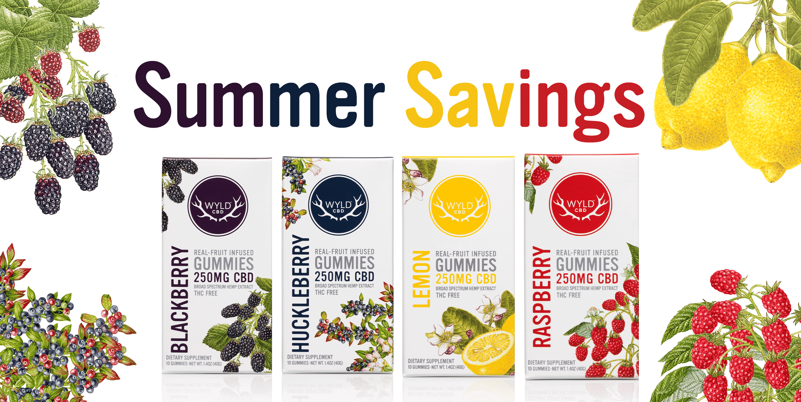 Wyld CBD's Summer Saving Packs
