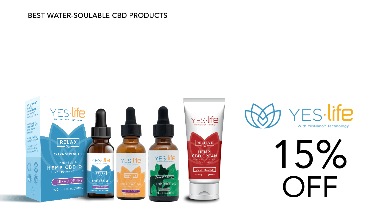 Yes.Life CBD Coupon Code Offer Website