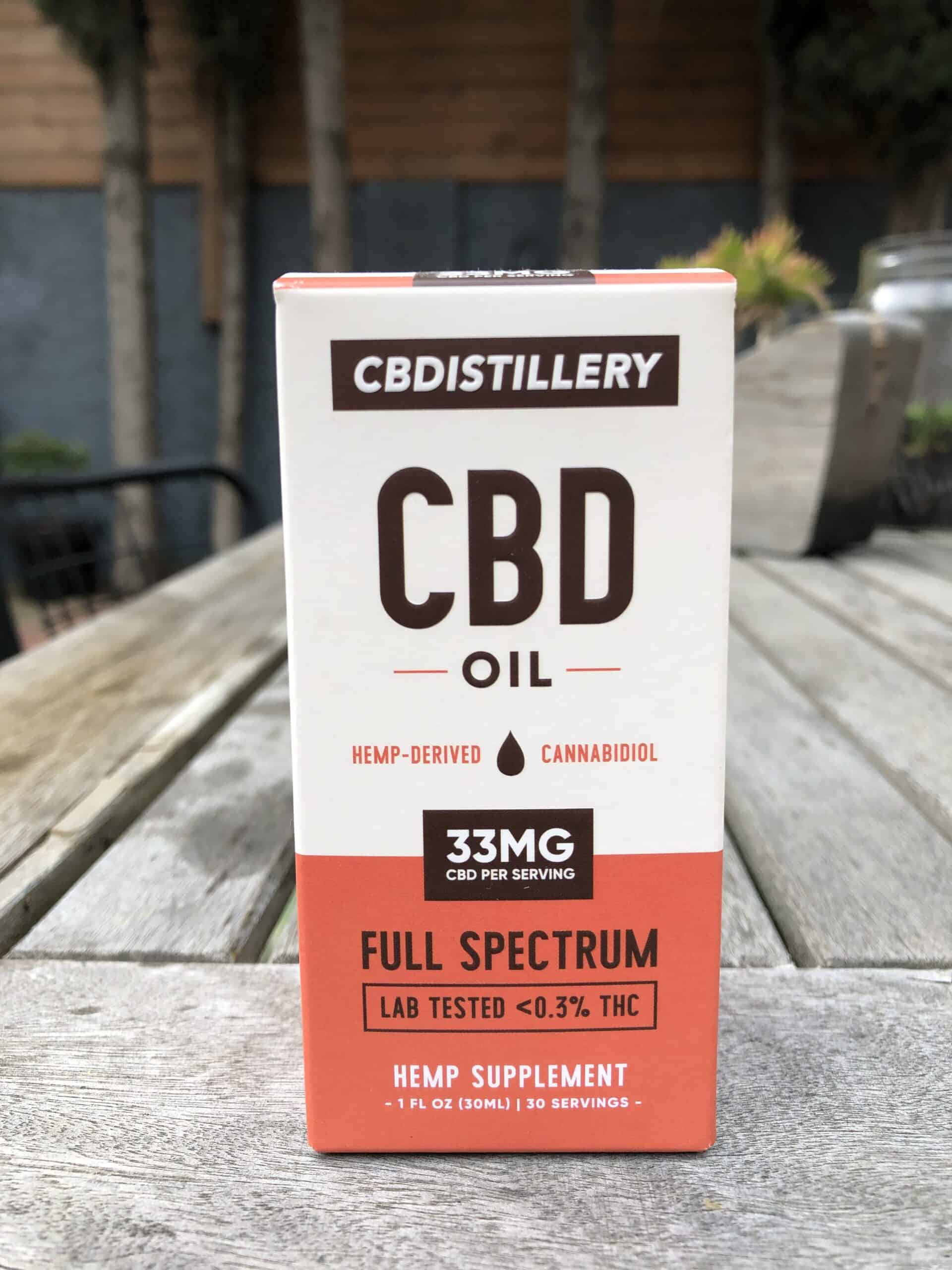 CBDistillery Full Spectrum CBD Oil - 1,000 MG