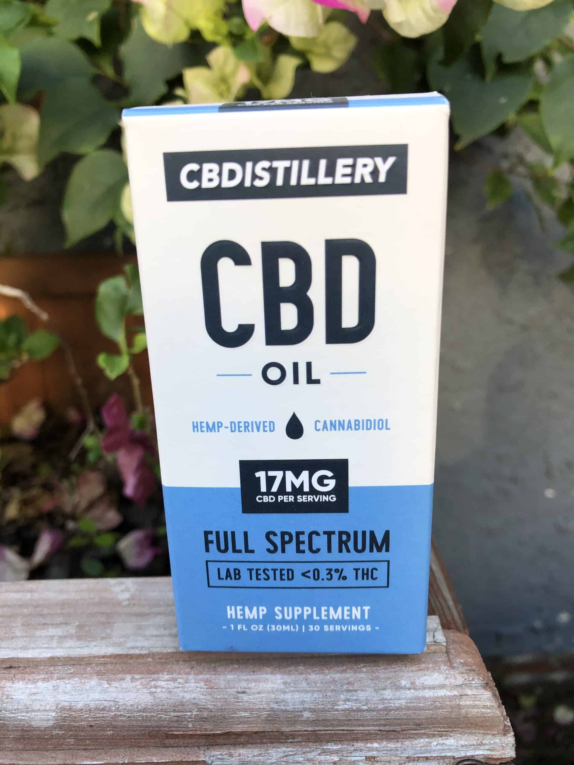 CBDISTILLERY FULL SPECTRUM CBD OIL - 500 MG