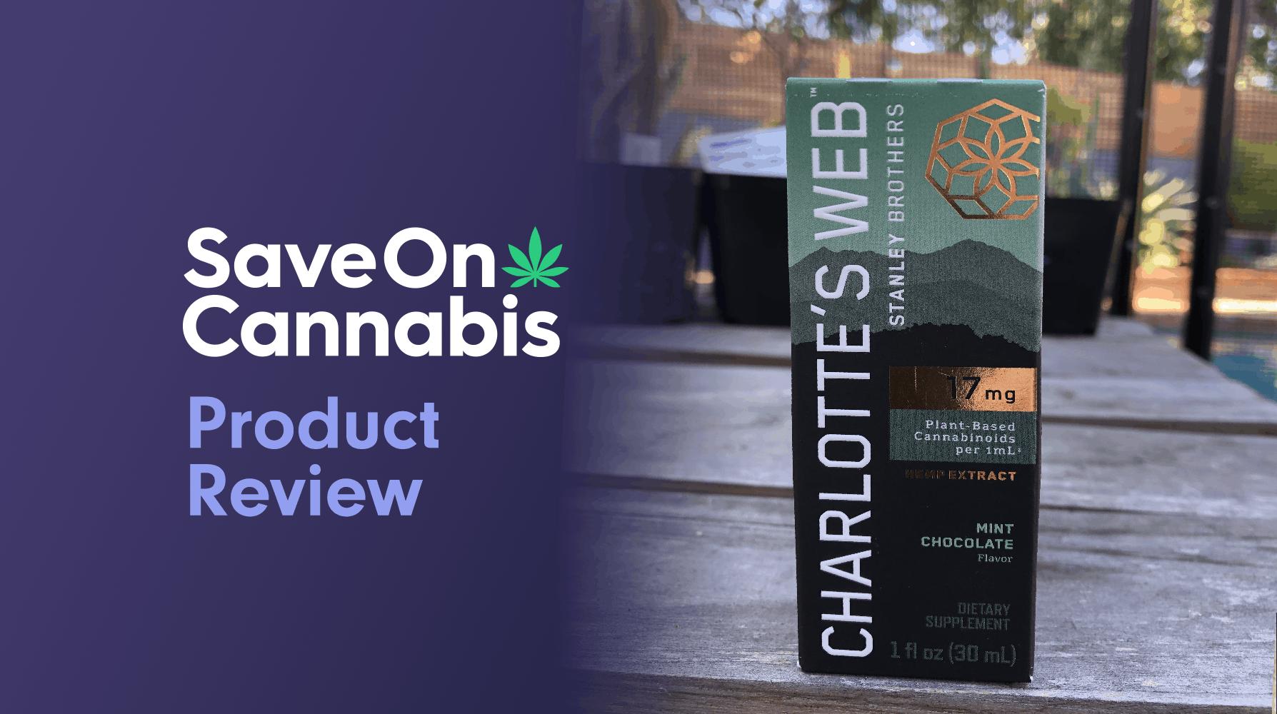 charlotte's web hemp extract mint chocolate save on cannabis website