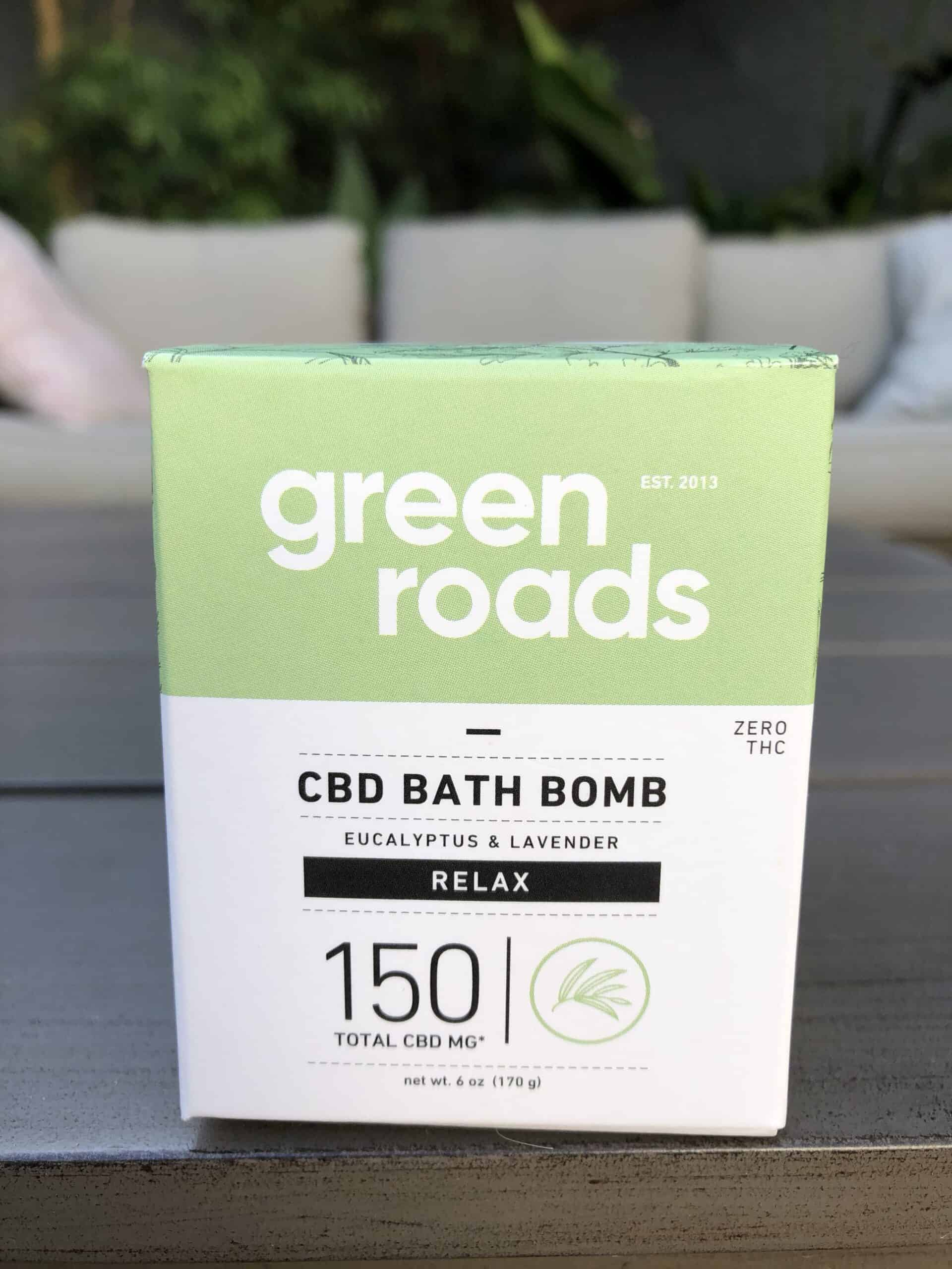 green roads 150 mg relax cbd bath bomb eucalyptus and lavender save on cannabis review