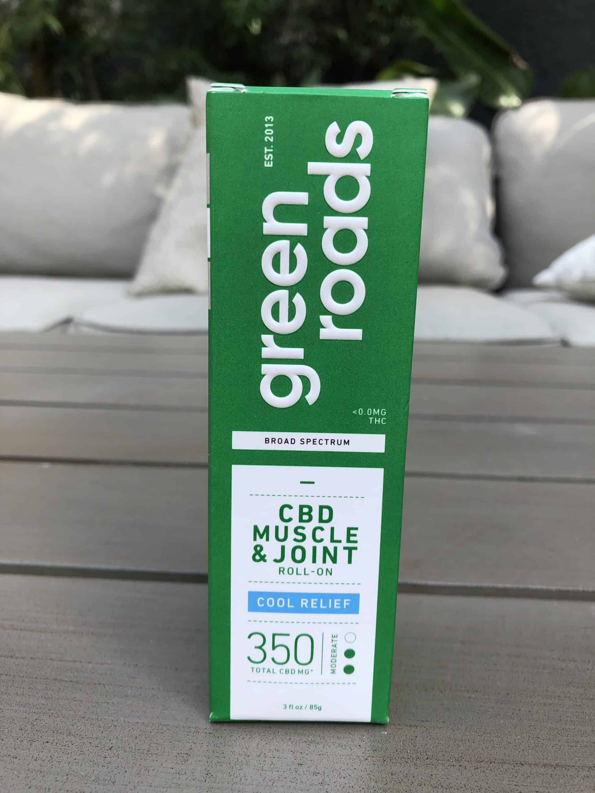 GREEN ROADS COOL RELIEF CBD MUSCLE & JOINT ROLL-ON