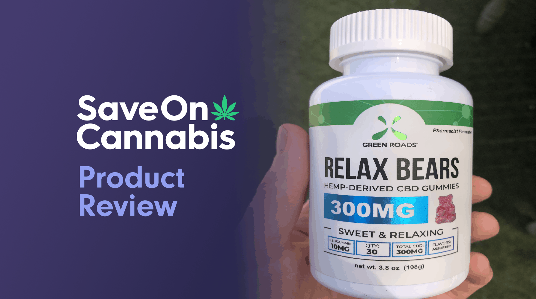 green roads relax bears save on cannabis review website