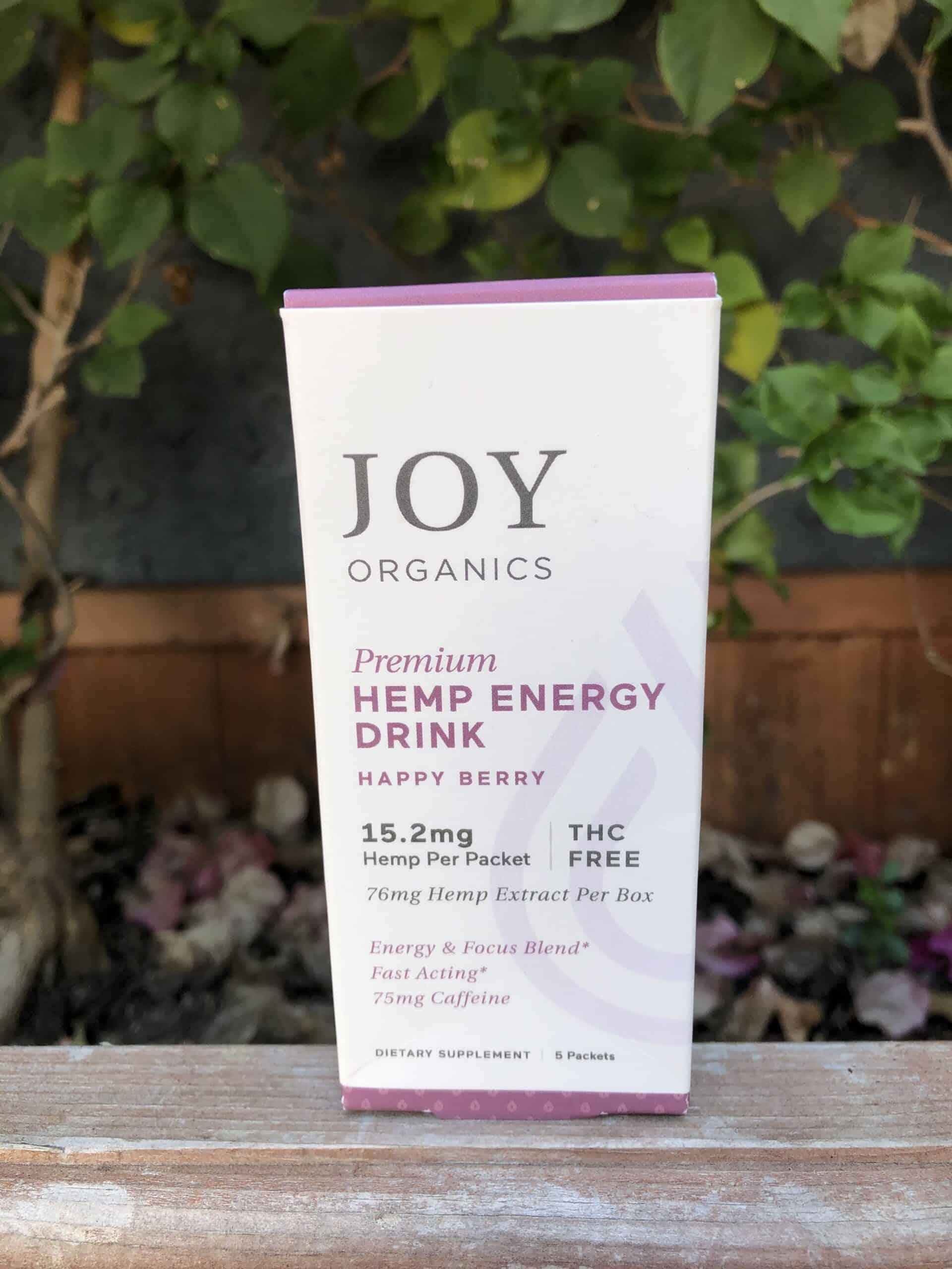 Joy Organics CBD Eenergy Drink