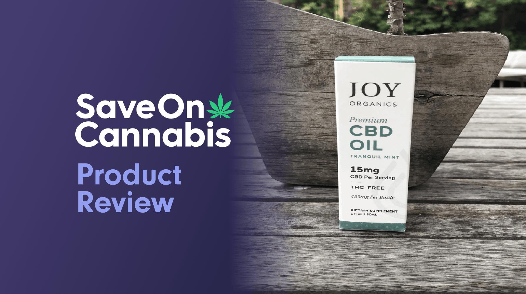 joy organics tranquil mint 15 mg save on cannabis review website