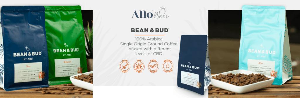 Allo Wake CBD Coupons Coffee Bead