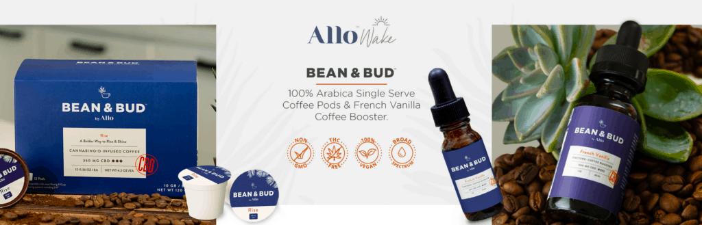 Allo Wake CBD Coupons Coffee Bean & Bud