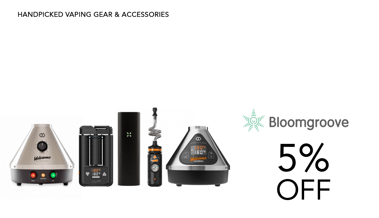 Bloom Groove Bongs Smoking Accessories Coupon Code Discount Promo