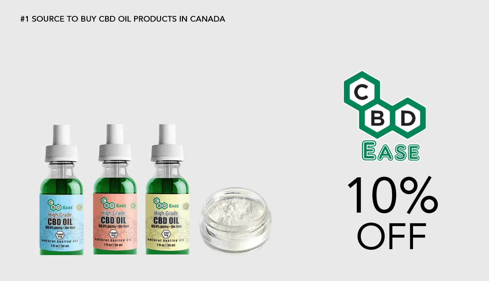 CBD Ease Coupon Code Promo Discount
