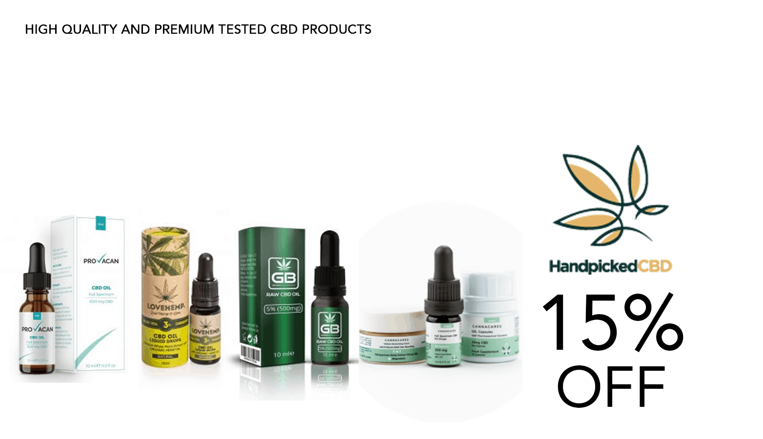 Handpicked CBD Coupon Code Promo Website