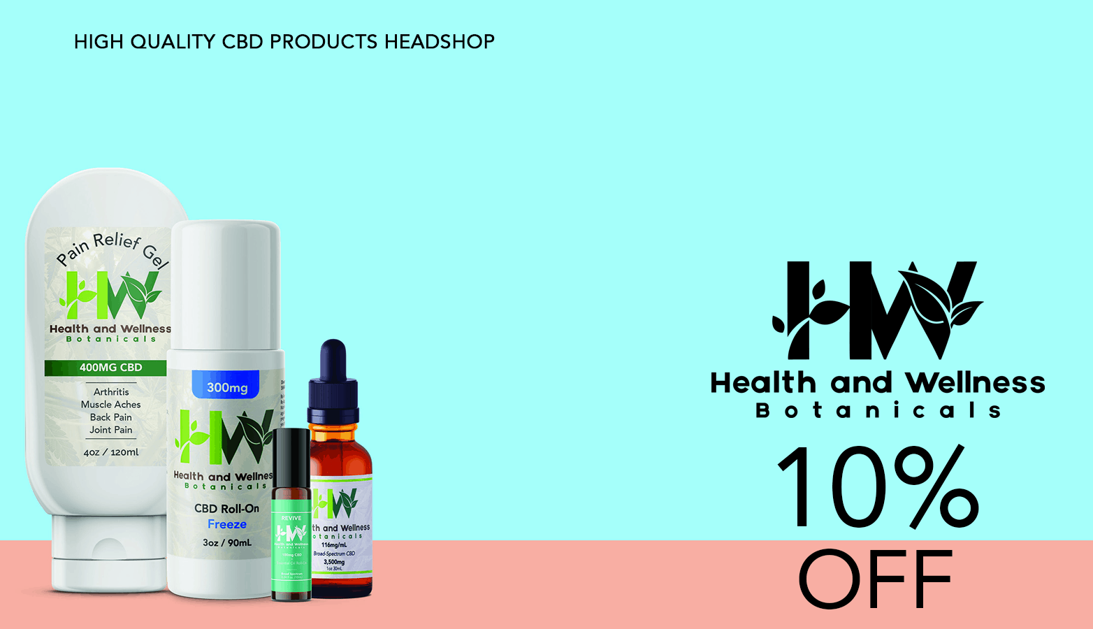Health and Wellness Botanicals CBD Coupon Code Offer
