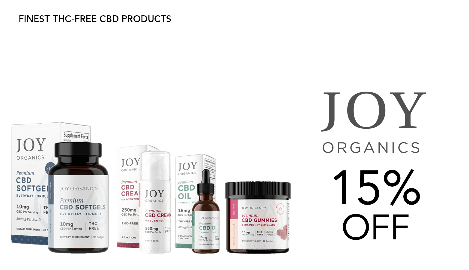 Get Joy Organics Coupon Code