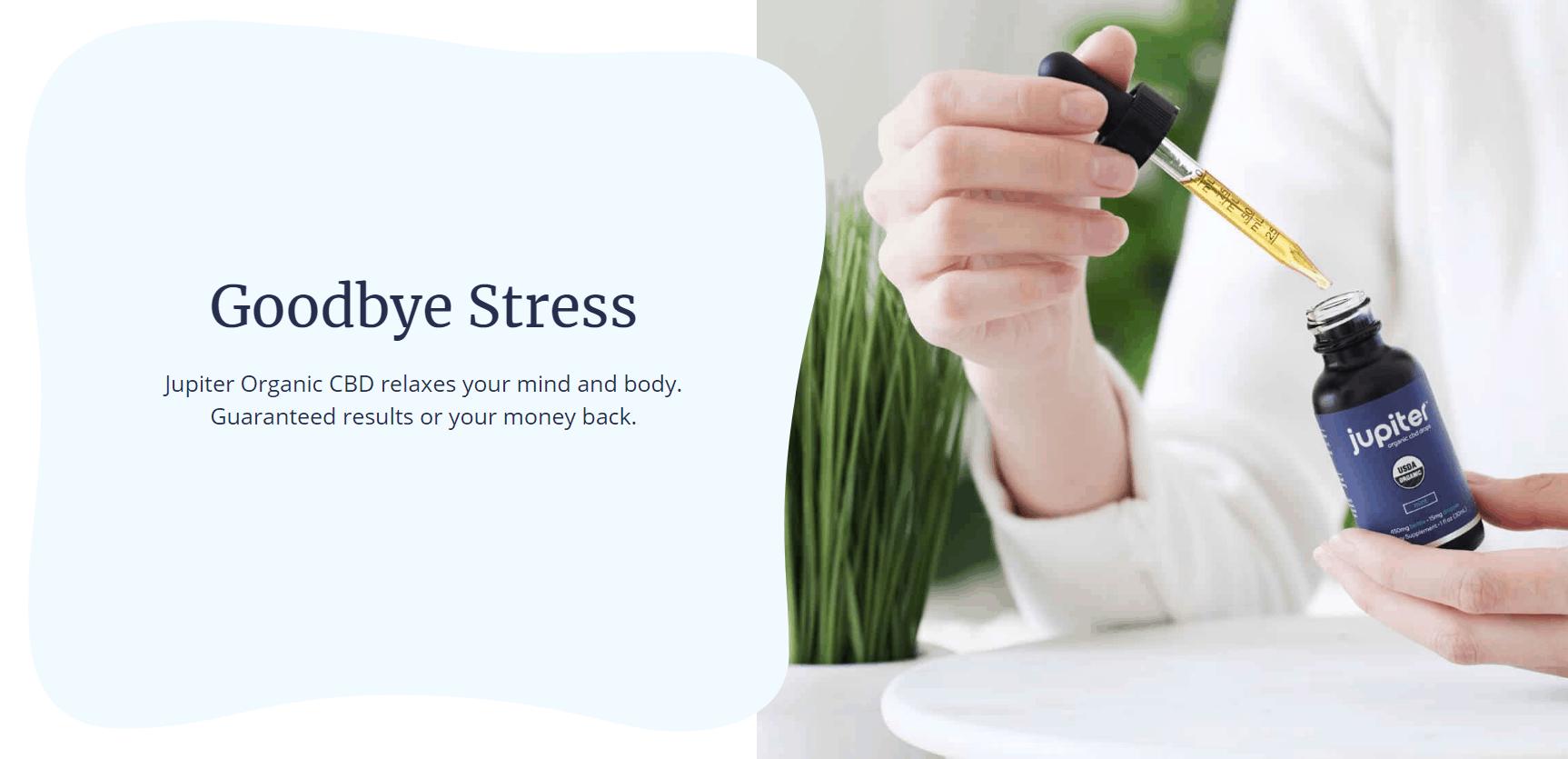 Jupiter Organic CBD for stress