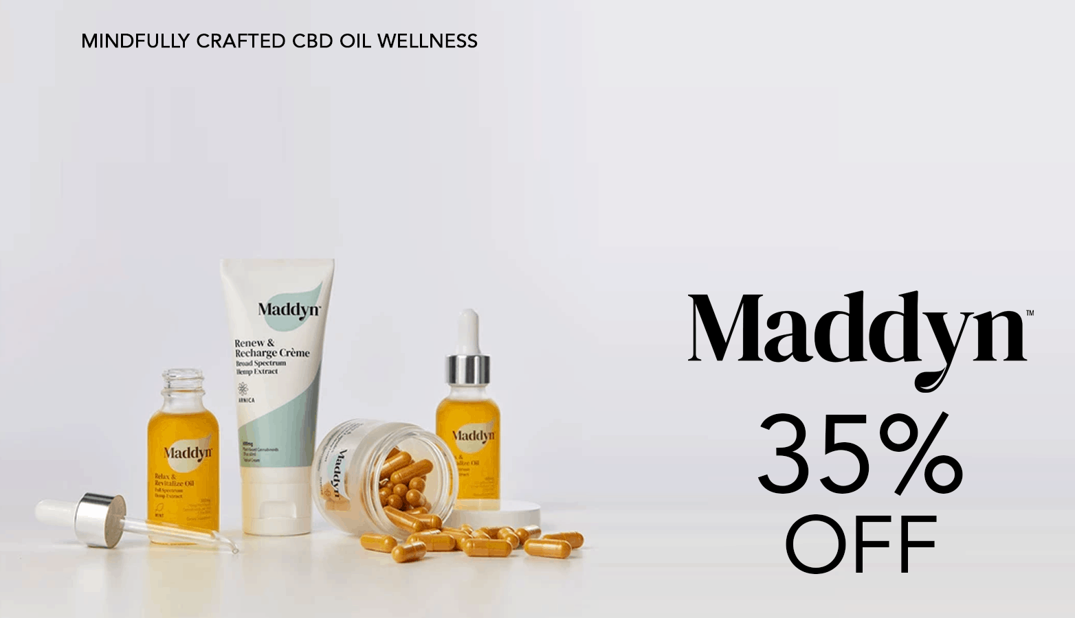 Maddyn CBD Coupon Code Offer Website