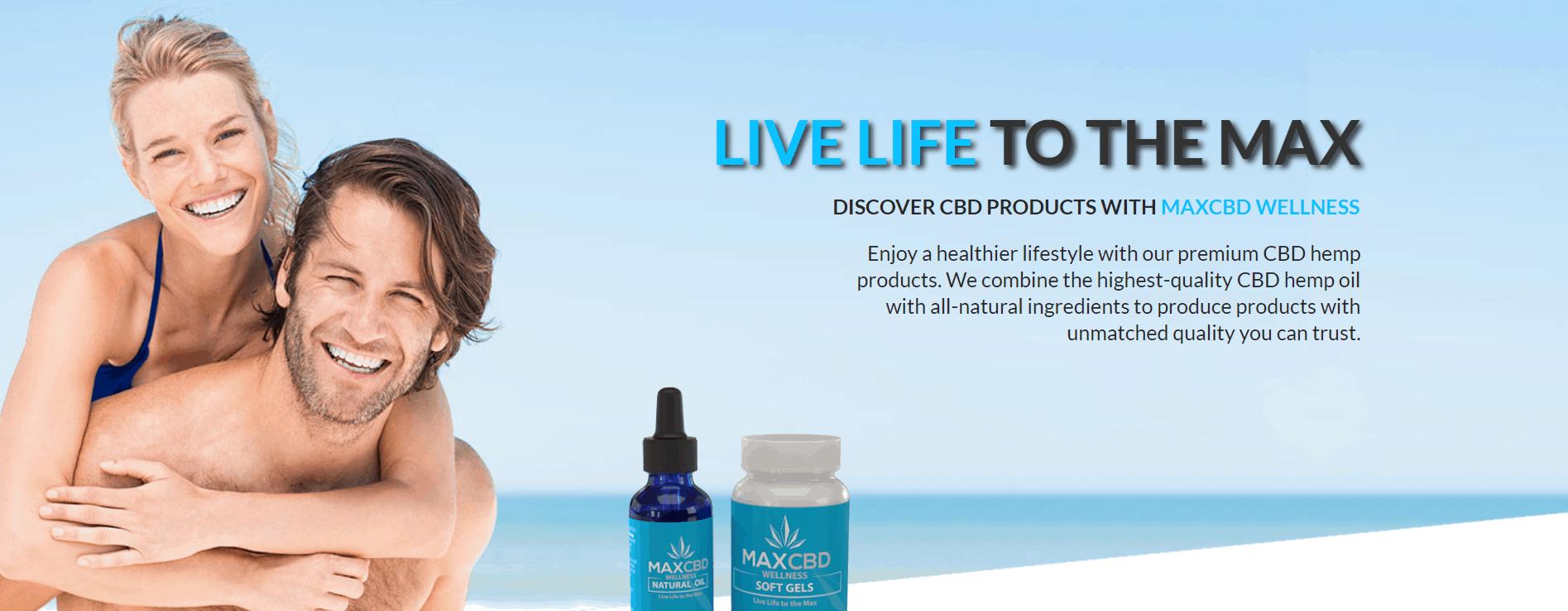 MaxCBD Wellness Coupons Healthier Lifestyle