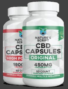Nature's Script CBD Coupons Capsules